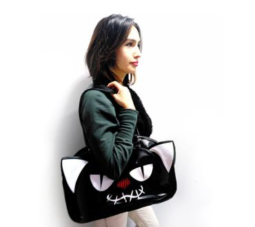 Dark World Kitty Handtasche – Bild 2