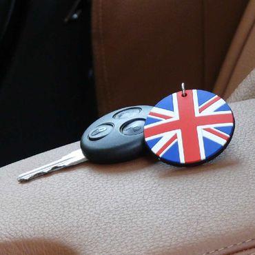 Gummi Schlüsselanhänger UK Flagge