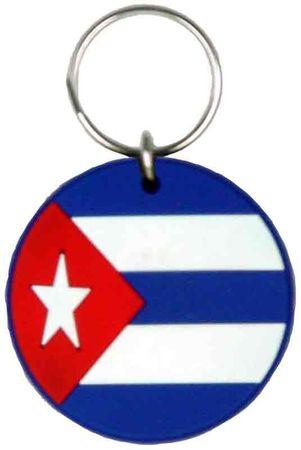 Gummi Schlüsselanhänger Puerto Rico
