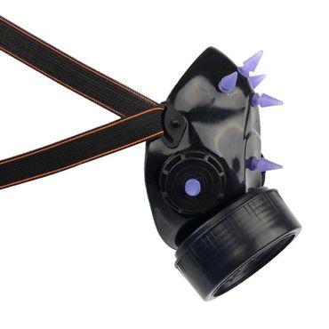 Gasmaske mit UV Spikes – Bild 3