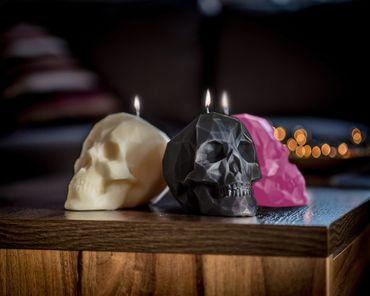 Kristallschädel Kerze – Bild 3