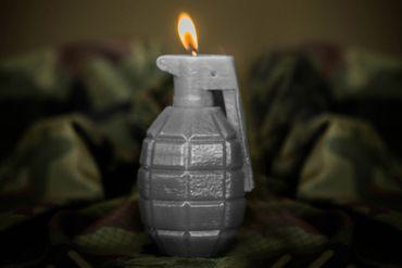 Kerze - Granate – Bild 3