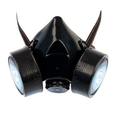 Gasmaske mit LED Licht – Bild 1