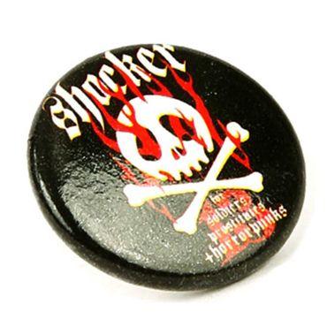 Rockabilly Ringförmige Ohrringe mit Shocker Totenkopf Aufdruck – Bild 2