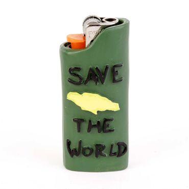 Jamaica Save the World Feuerzeug Display – Bild 3