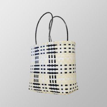 Sommer Rattan Handtasche – Bild 2