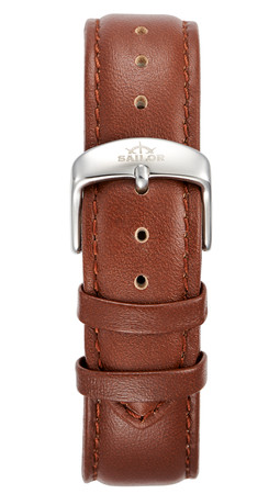 Leather strap Basic brown