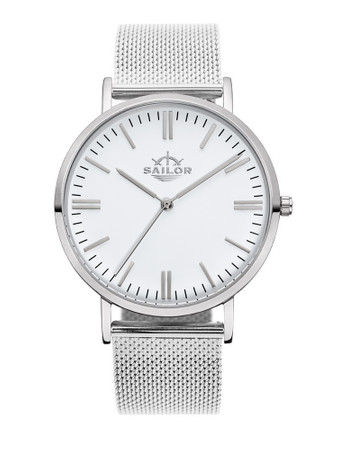 Sailor Uhr Classic Style silber