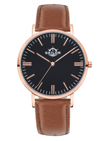 Sailor Classic Basic brown rosègold
