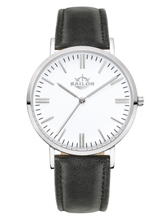 Sailor Uhr Classic Basic black silber