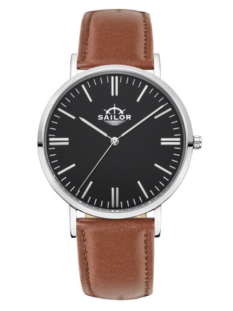 Sailor Classic Basic brown silver