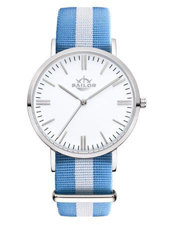 Sailor Uhr Classic Sail silber