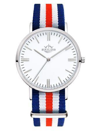 Sailor Uhr Classic Marine silber