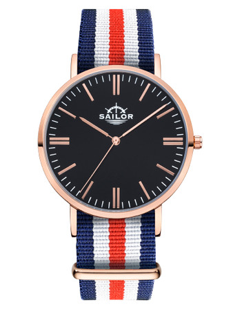 Sailor Uhr Classic Marine rosegold