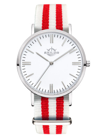 Sailor Uhr Classic Negril silber