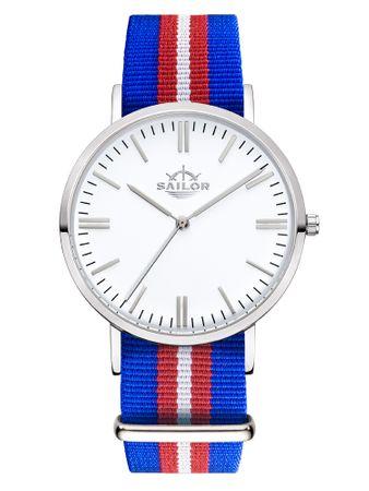 Sailor Uhr Classic Costa silber