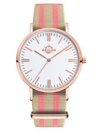 Sailor Uhr Classic Banks rosegold