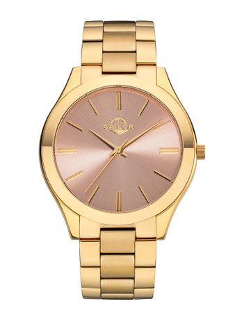 Sailor Ladies wrist watch Fashion Paris gold/rosegold SL201-3487