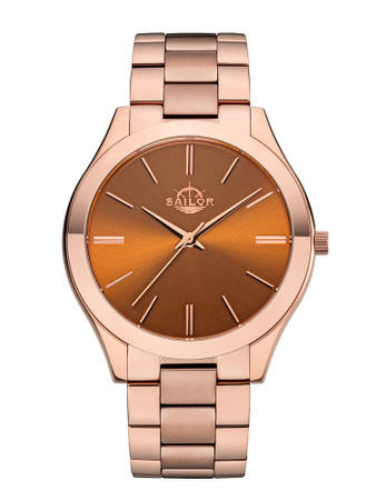 Sailor Uhr Fashion Paris rosegold/braun SL201-2479