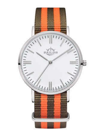 Sailor Uhr Classic Rope silber