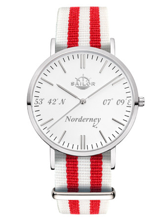 Sailor Uhr Limited Edition Norderney silber, SL101-1026-40
