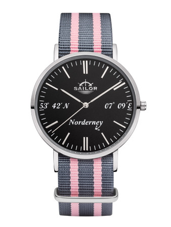 Sailor Ladies wrist watch Norderney limited edition silver/white SL101-1026-40