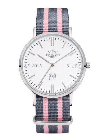 Sailor watch Sylt limited edition silver/white SL101-1049-40