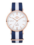 Sailor wrist watch Juist limited edition rosègold/white  001