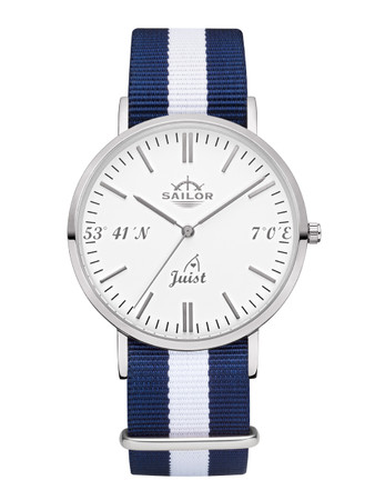 Sailor Uhr Limited Edition Juist silber