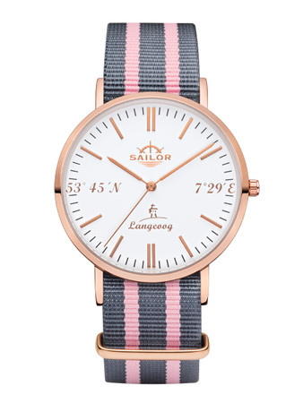 Sailor Uhr Limited Edition Langeoog rosegold