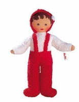 Kaethe Kruse 70201 - Terry Cloth Baby red-white