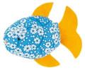 Käthe Kruse 82322 - Spritzfisch mit gelben Flossen