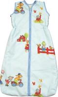 Babies & Kids - Sleeping Bag Playground light blue (New Wool Plush)