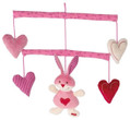 sigikid 53226 - Soft Mobile Bunny with Heart (ESPRIT)