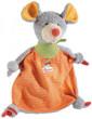 sigikid 47855 - Schnuffeltuch Merry Maus (Baby Basics)