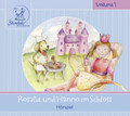 "Sterntaler 10272 - Audio Stories CD ""Rosalie und Hanno im Schloss"" (in German)"