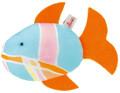 Käthe Kruse 82326 - Spritzfisch Flosse orange