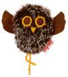 Kaethe Kruse 91357 - Shaking Owl Plush brown