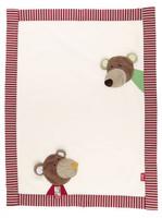 sigikid 40792 - Blanket Wild and Berry Bears