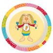 sigikid 24441 - Melamin-Teller Rainbow Rabbit