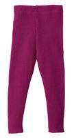 Disana 33208XX - Knitted Leggings Wool berry