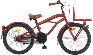 20 Zoll Popal Black Fighter B2000 Jungen Beach Cruiser – Bild 4