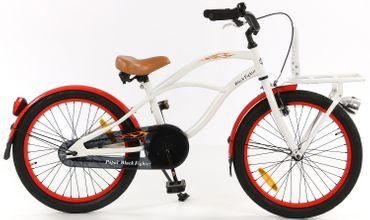 20 Zoll Popal Black Fighter B2000 Jungen Beach Cruiser – Bild 5