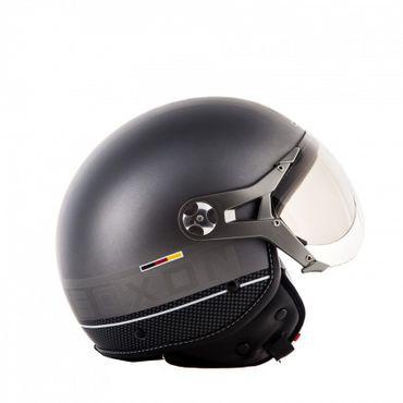 SOXON SP-325 PLUS Titanium (A) Jethelm Jet Vespa Retro Roller Helm Motorradhelm – Bild 4