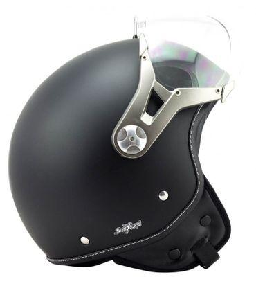 SOXON SP-325 night Jethelm Jet Vespa Retro Roller Helm Motorradhelm – Bild 5