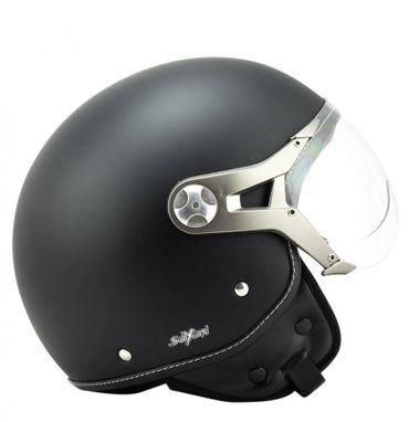 SOXON SP-325 night Jethelm Jet Vespa Retro Roller Helm Motorradhelm – Bild 7