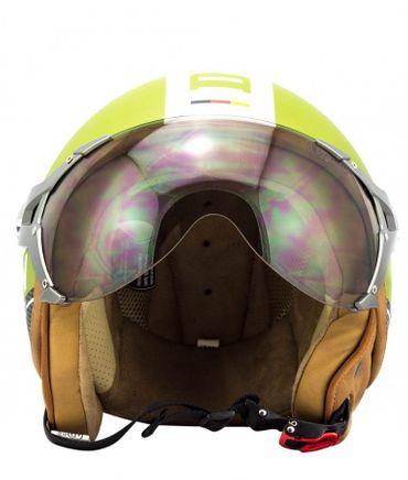 SOXON SP-325 PLUS army Jethelm Jet Vespa Retro Roller Helm Motorradhelm – Bild 3