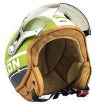 SOXON SP-325 PLUS army Jethelm Jet Vespa Retro Roller Helm Motorradhelm 001