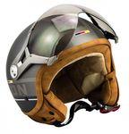 SOXON SP-325 PLUS Titanium Jethelm Jet Vespa Retro Roller Helm Motorradhelm 001