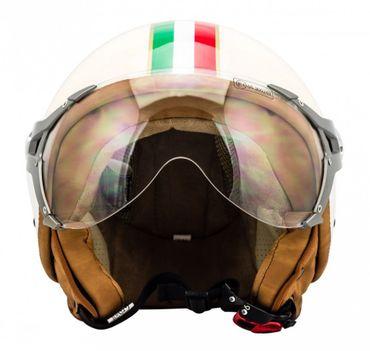 SOXON SP-325 Imola - Jethelm ITALY Jet Roller Vespa Helm Motorradhelm – Bild 3